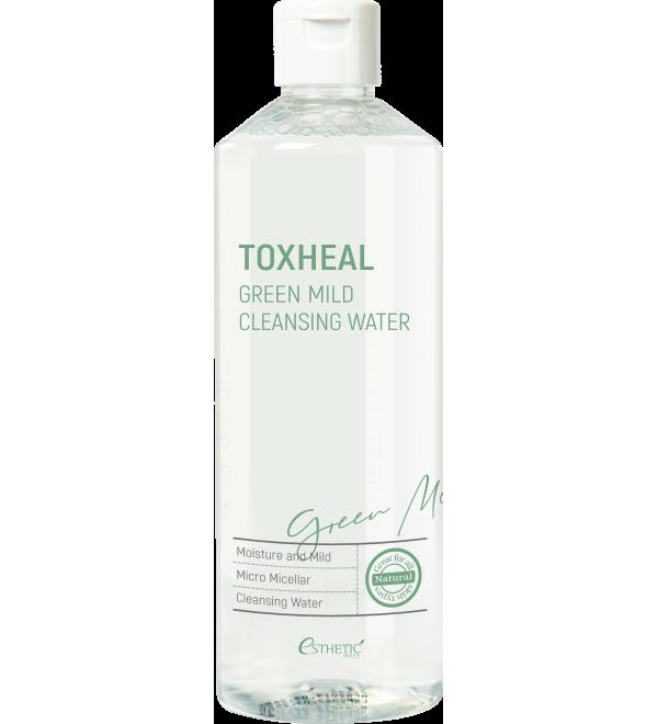ESTHETIC HOUSE Toxheal Green Mild Cleansing Water Рідина для зняття макіяжу, 530 мл