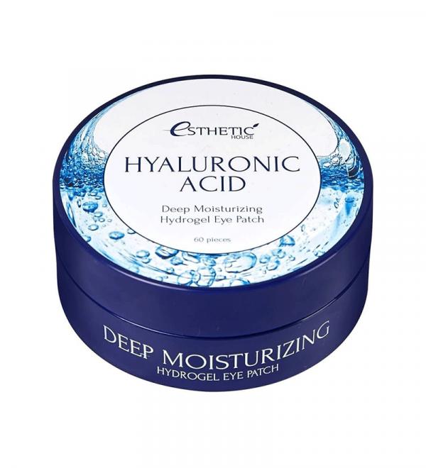 ESTHETIC HOUSE Hyaluronic Acid Hydrogel Eye Patch Патчі під очі гідрогелеві, 60 шт