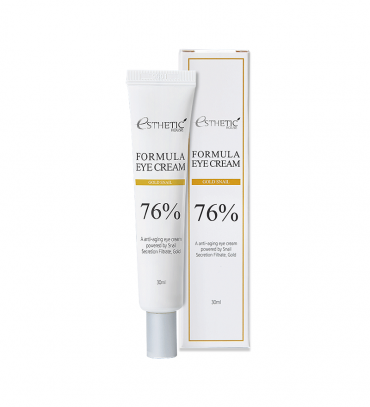 ESTHETIC HOUSE Formula Eye Cream Gold Snail 76% Крем для очей живильний Муцин і золото, 30 мл
