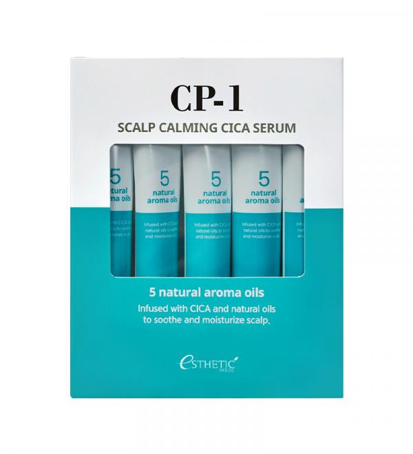 ESTHETIC HOUSE CP-1 Scalp Calming Cica Serum Сироватка для шкіри голови заспокійлива, 5 шт х 20 мл