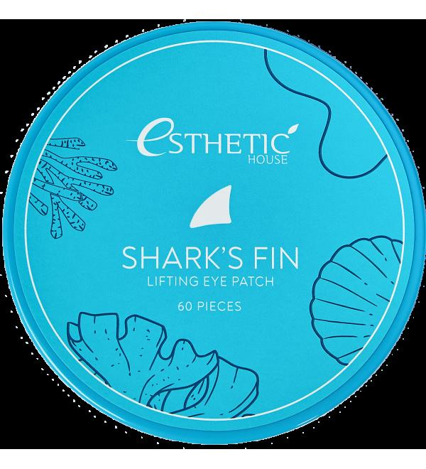 ESTHETIC HOUSE Гидрогелевые патчи для глаз ПЛАВНИК АКУЛЫ Shark's Fin Lifting Eye Patch, 60 шт