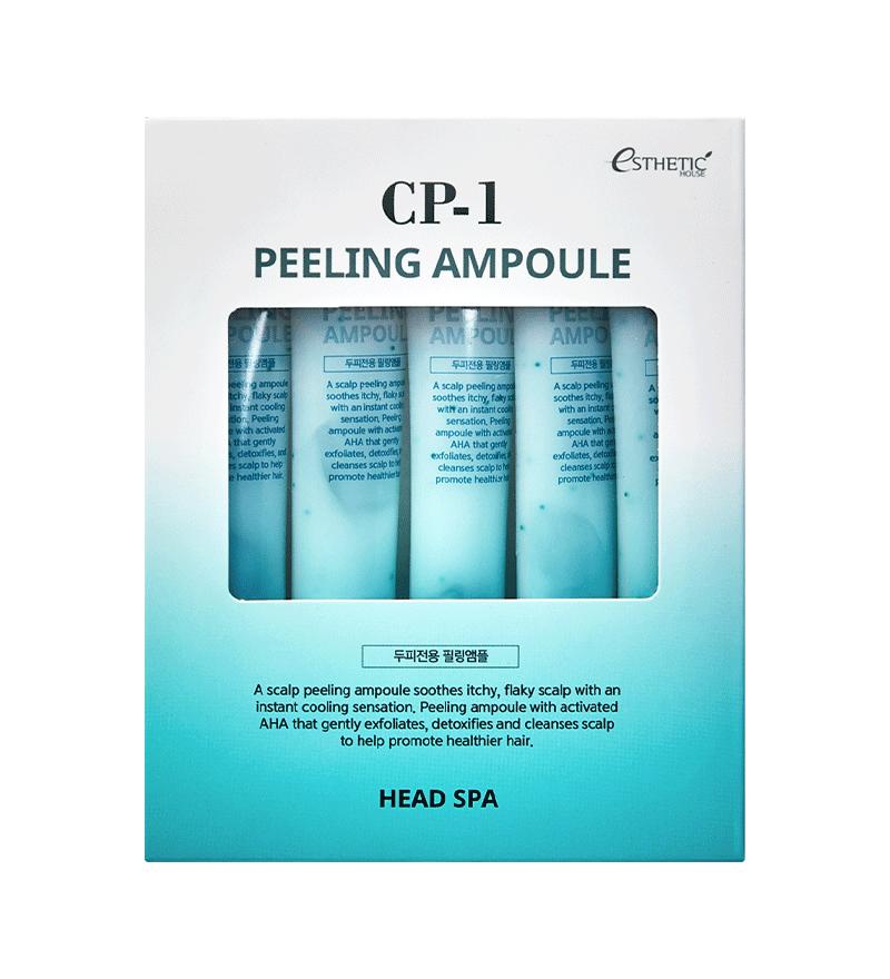 ESTHETIC HOUSE CP-1 Peeling Ampoule Пілінг-сироватка для шкіри голови, від лупи, 20 мл х 5 шт