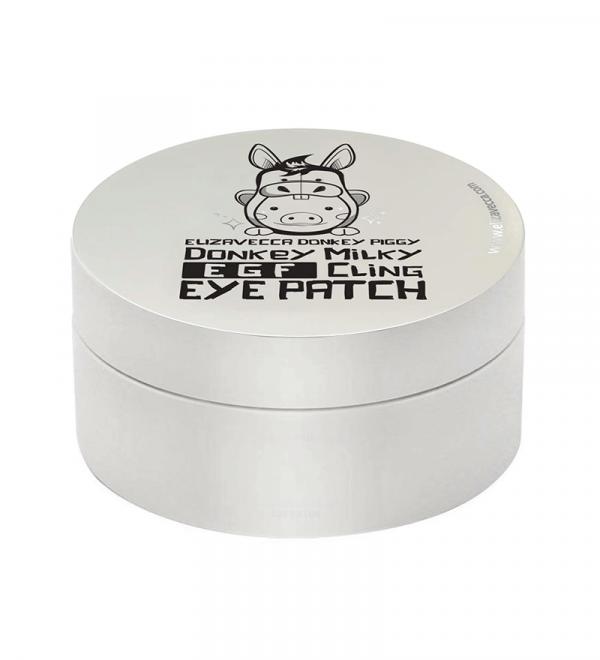 ELIZAVECCA Патчі для очей Donkey Piggy Milky EGF Сling Eye Patch, 60 шт