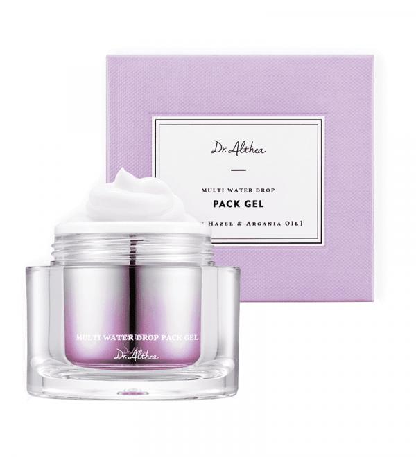DR. ALTHEA Multi Water Drop Pack Gel Маска для обличчя нічна зволожуюча з гелевою текстурою, 50 мл