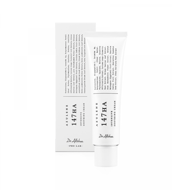 DR. ALTHEA PRO LAB Крем для ЛИЦА УСПАКАИВАЮЩИЙ/АЗУЛА Azulene 147 HA-Intensive Soothing Cream,50м