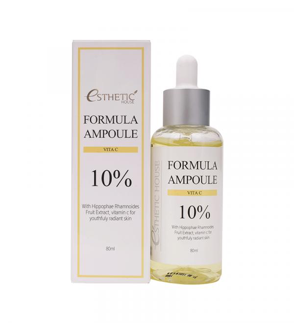 ESTHETIC HOUSE Formula Ampoule Vita C Сироватка для обличчя антиоксидантна з вітаміном С, 80 мл