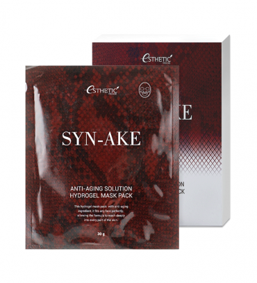 ESTHETIC HOUSE Syn-Ake Anti-Aging Solution Hydrogel Mask Набір Маска для обличчя, 30 гр х 5 шт