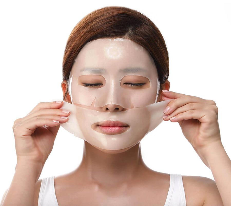 корейские гидрогелевые маски для лица оптом